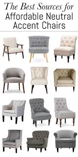 Affordable Accent Chair The Best Sources For Affordable Neutral Accent Chairs Erin Spain
