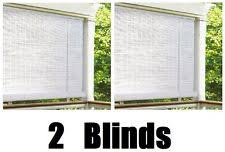 Roll Up Patio Blinds by Roller Window Shades Ebay