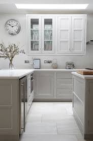 kitchen color ideas white stained wall cabinets grey white