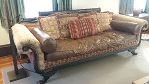 Old Style Sofa by Old Hickory Tannery Duncan Phyfe Style Couch Duncan Phyfe And Modern