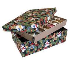 christmas ornament storage the best christmas ornament storage box