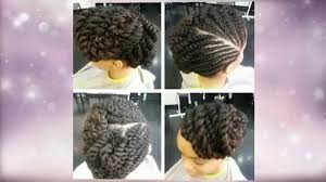 flat twist updo hairstyles pictures flat twist updo hairstyles youtube