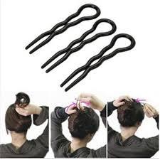 hair bun clip aliexpress buy hot magic 3pcs simple fast spiral hair braid