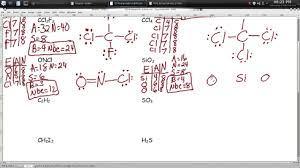 drawing more lewis structures worksheet episode 502 page 5 15