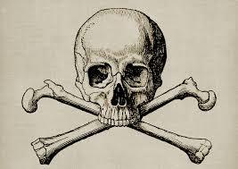 skull cross bone steunk free image on pixabay