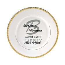 personalized dinner plate 11 best personalized wedding plates images on dinner