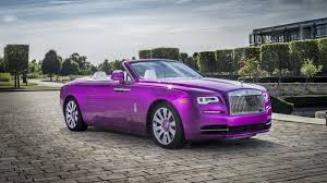 roll royce dawn 2017 rolls royce dawn in fuxia review top speed