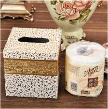 Decorative Toilet Paper Aliexpress Com Buy Modern Luxury Home Square Wood Leather