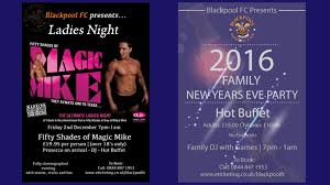 Christmas Party Nights Blackpool - blackpool fc news archive
