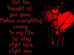 my darkest days without you lyrics