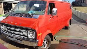 Dodge Ram Orange - ram van street van