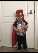 Iron Man Halloween Costume Toddler Iron Man Costume Toddler Ebay