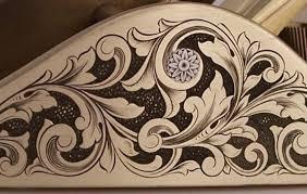 ornamental engraving