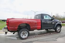 Dodge Ram 4500 - ram spied testing a 5500 heavy duty with a pickup bed
