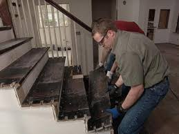 how to replace staircase treads how tos diy