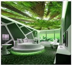 Wohnzimmerdecke Modern Dekor Decke Wohnzimmer Fotowand Papier Benutzerdefinierte 3d Wald