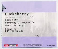 buckcherry dear superstar heavens basement the crave rock city