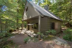 classic tiny cabin by denny creek is just big enough curbed seattle