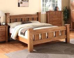 Solid Bed Frame King King Size Wooden Bedstead Ibbc Club