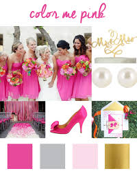 what colors go good with pink hot pink wedding color inspiration sofia invitations blog