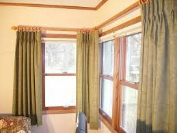 Curtains Corner Windows Ideas Best Corner Curtain Rod Decor Window Treatments Blind For