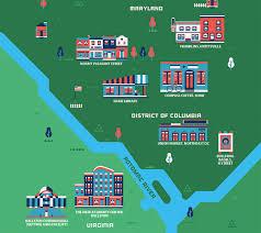 Washington Dc Neighborhood Map by The 5 Hottest Neighborhoods In Washington