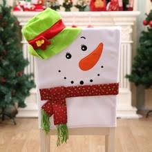snowman chair covers popular christmas chair covers buy cheap christmas chair covers