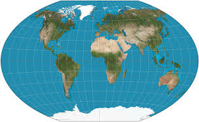 Map Of The New World by World Map