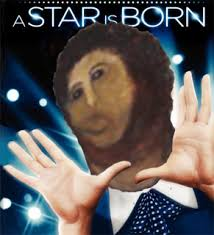 Fresco Jesus Meme - a star is born internet loves disfigured jesus fresco