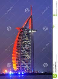 united arab emirates dubai burj al arab hotel royalty free stock