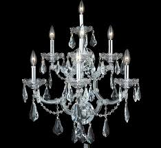 Crystal Wall Sconce by Maria Theresa Collection 22 U2033 W Extra Large Crystal Wall Sconce