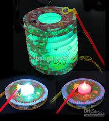 led lights for paper lanterns 2018 blinking paper lanterns mini led candle beautiful color led