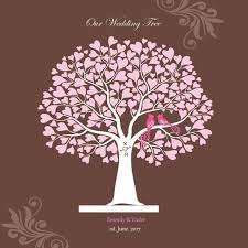 graduation guest book canvas wedding tree signature guest book for event wedding party