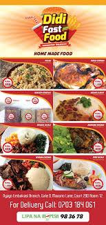 didi cuisine didi fast food fast food restaurant nairobi kenya