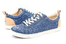 ugg womens tennis shoes ugg karine chunky glitter silver multi tennis shoes us size 12