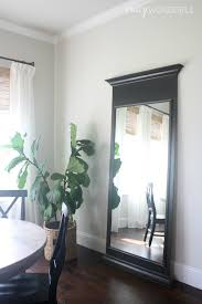 Mirror That Looks Like Window by Leaning Floor Mirror Abbyson Venice Studded Leaning Floor Mirror