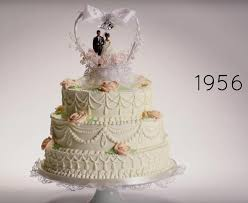 wedding cake sederhana 10 transformasi kue pengantin dari masa ke masa thewedding id