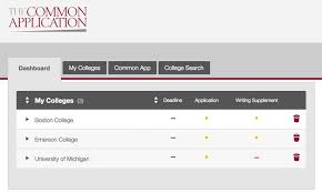 how to apply the common application