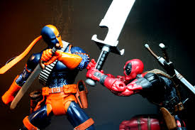 deadpool vs deathstroke comic wallpapers wallpapersin4k net