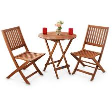 Castlecreek Patio Furniture by 3 Pc Outdoor Folding Table And Chairs Set 283209 Patio