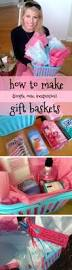 how to put together an easy cheap cute gift basket this one