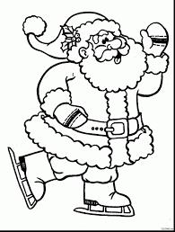 coloring pages to print of santa santa claus coloring pages download free coloring book