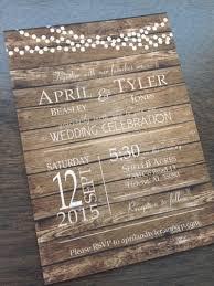 wood wedding invitations u2013 frenchkitten net