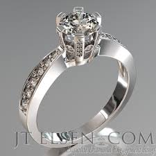 diamond king rings images Pave diamond enagement rings antique style engagement ring round jpg