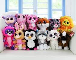 2017 2017 ty beanie boos big eyes plush toy doll child birthday