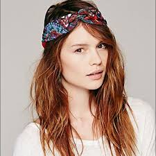 tie headbands 60 free accessories freepeople printed wire tie