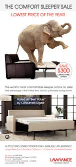 Lawrance Contemporary Furniture THE COMFORT SLEEPER SALE - Contemporary furniture san diego