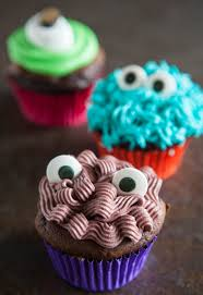 eclectic recipes monster cupcakes