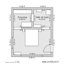 chambres parentales plan chambre parentale avec salle de bain et dressing 1 les 25