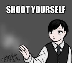 Meme Yourself - shoot yourself lucius meme by edwardelrickun on deviantart